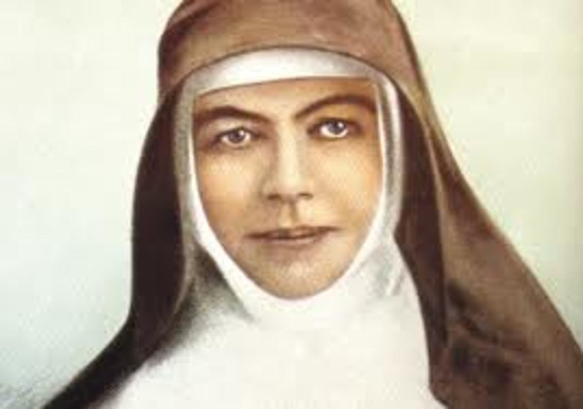 Australian saint Saint Mary of the Cross MacKillop, was Canonised the 17 October 2010.   Mary MacKillop was born 15, January 1842 died 8 August 1909