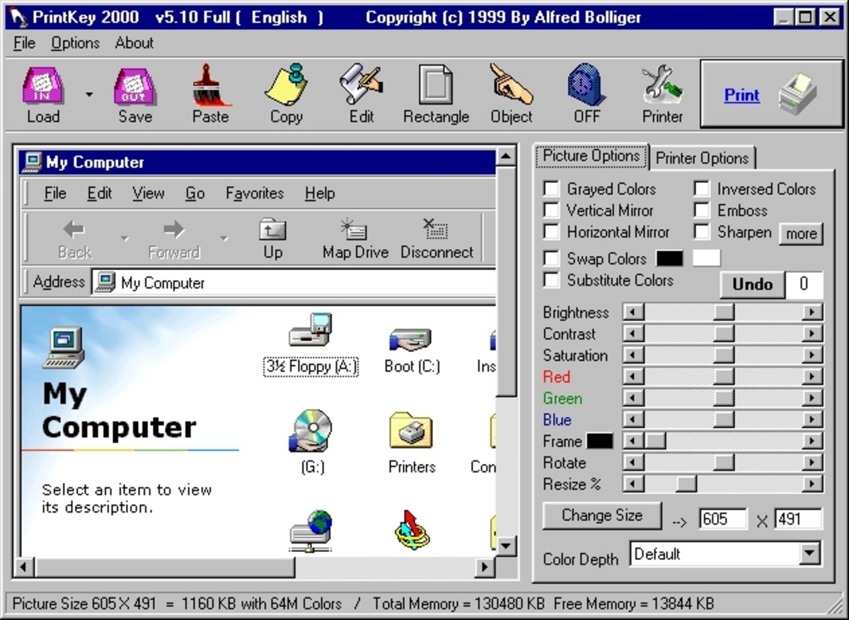 PrintKey, free utility