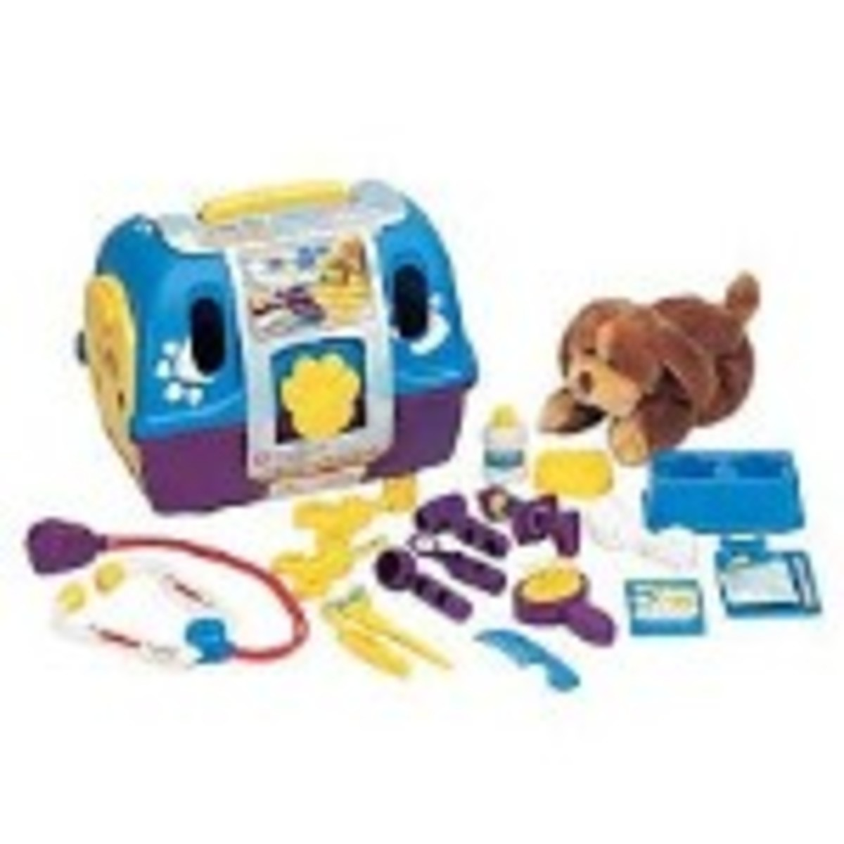 Kid's Animal Vet Playset Toy