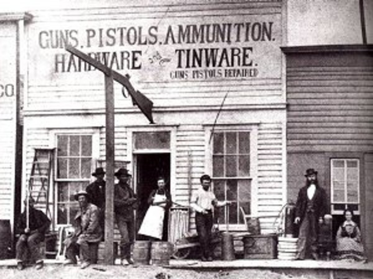 The hardware store provided the prairie town more than just hardware. It provided general merchandise, grocery, building materials and an active catalog business for all the items not found in the store.