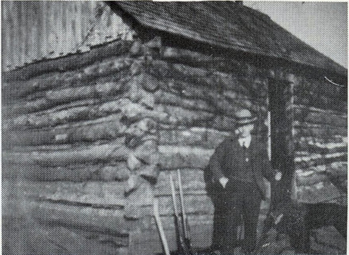 A typical Homestead. 1897