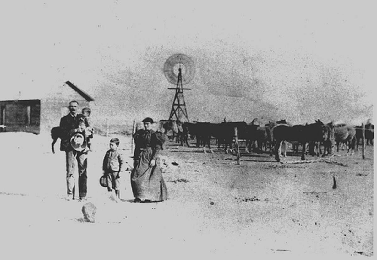 Ranch in 1895.
