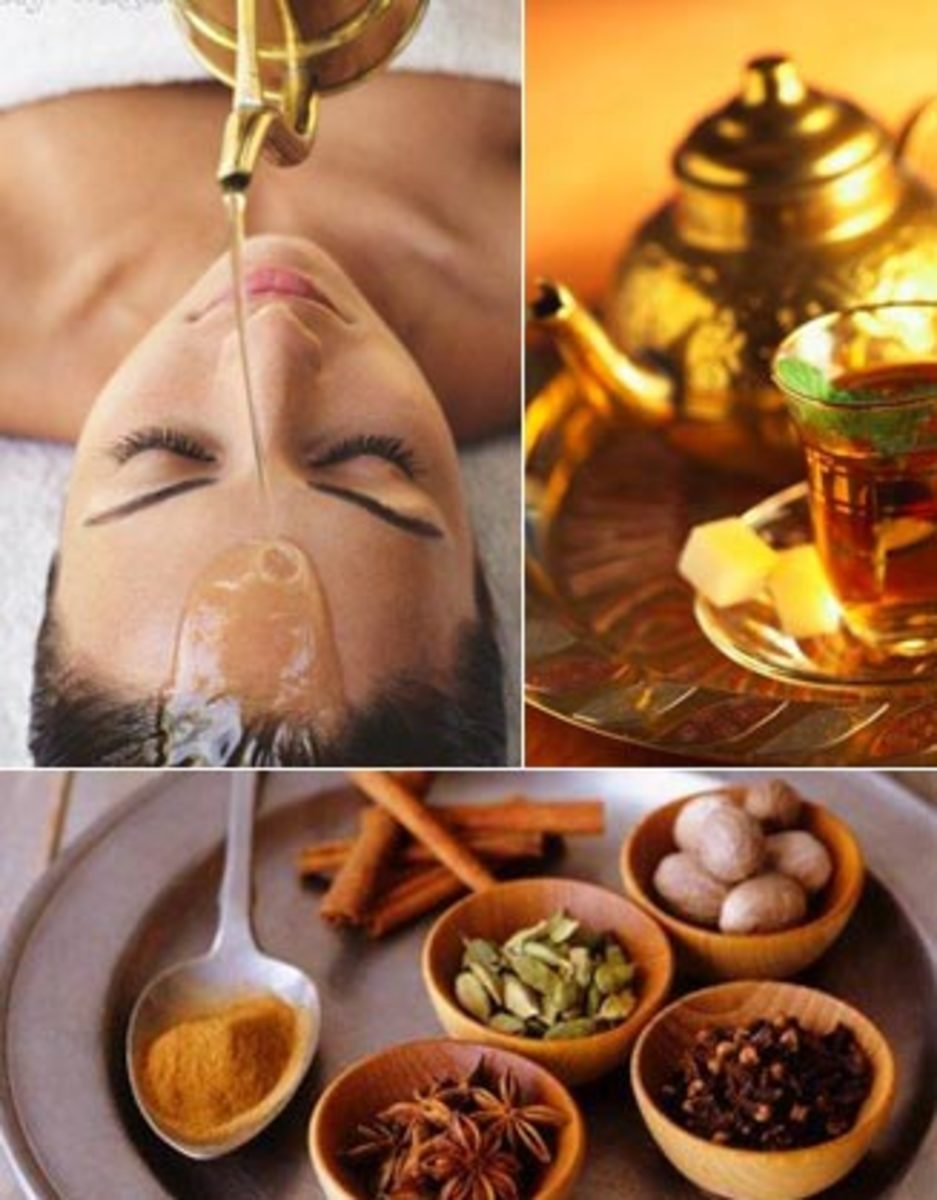 Ayurveda - Ayu means life and ved means science so Ayurveda means science of life.
