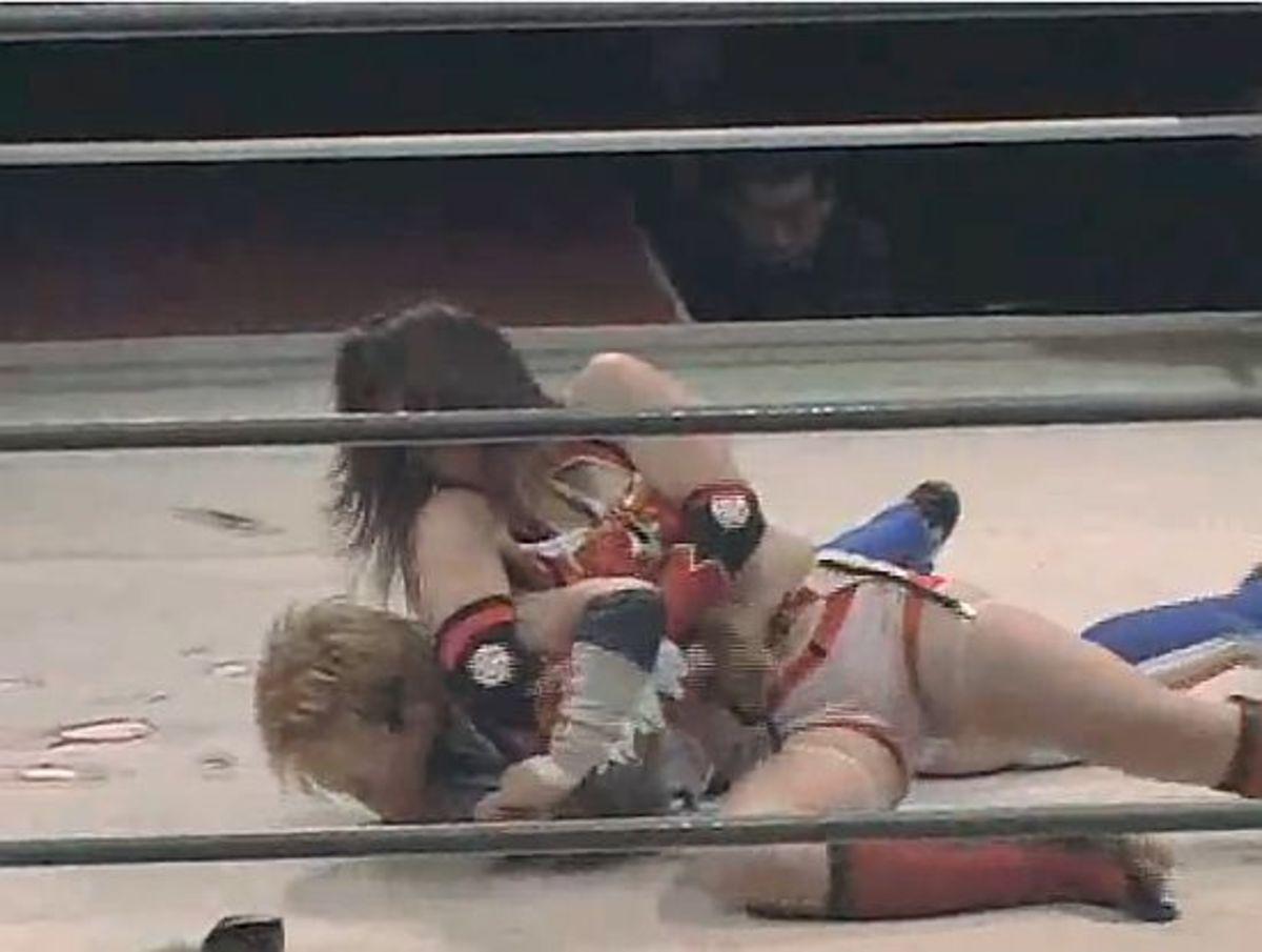 Nanae Takahashi and Kana versus  AKINO and Chihiro Oikawa