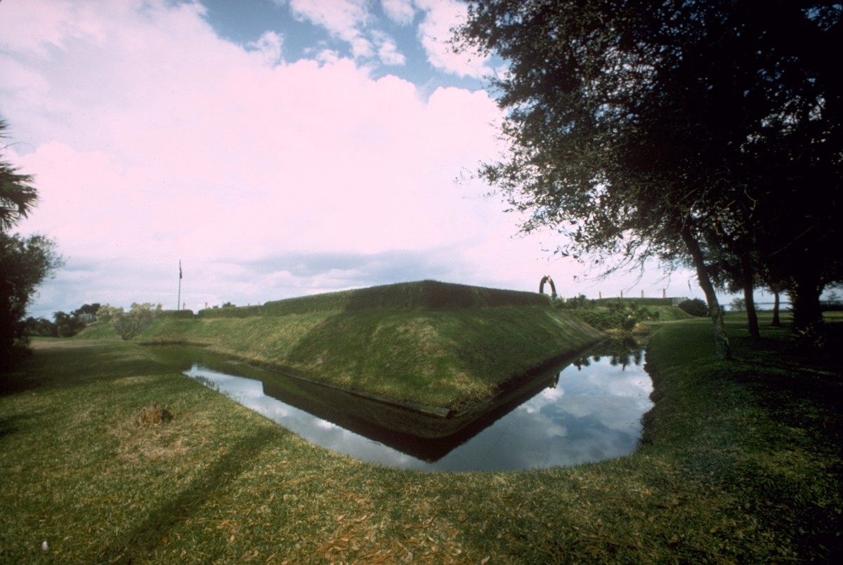 Modern-day reconstruction of Fort Caroline