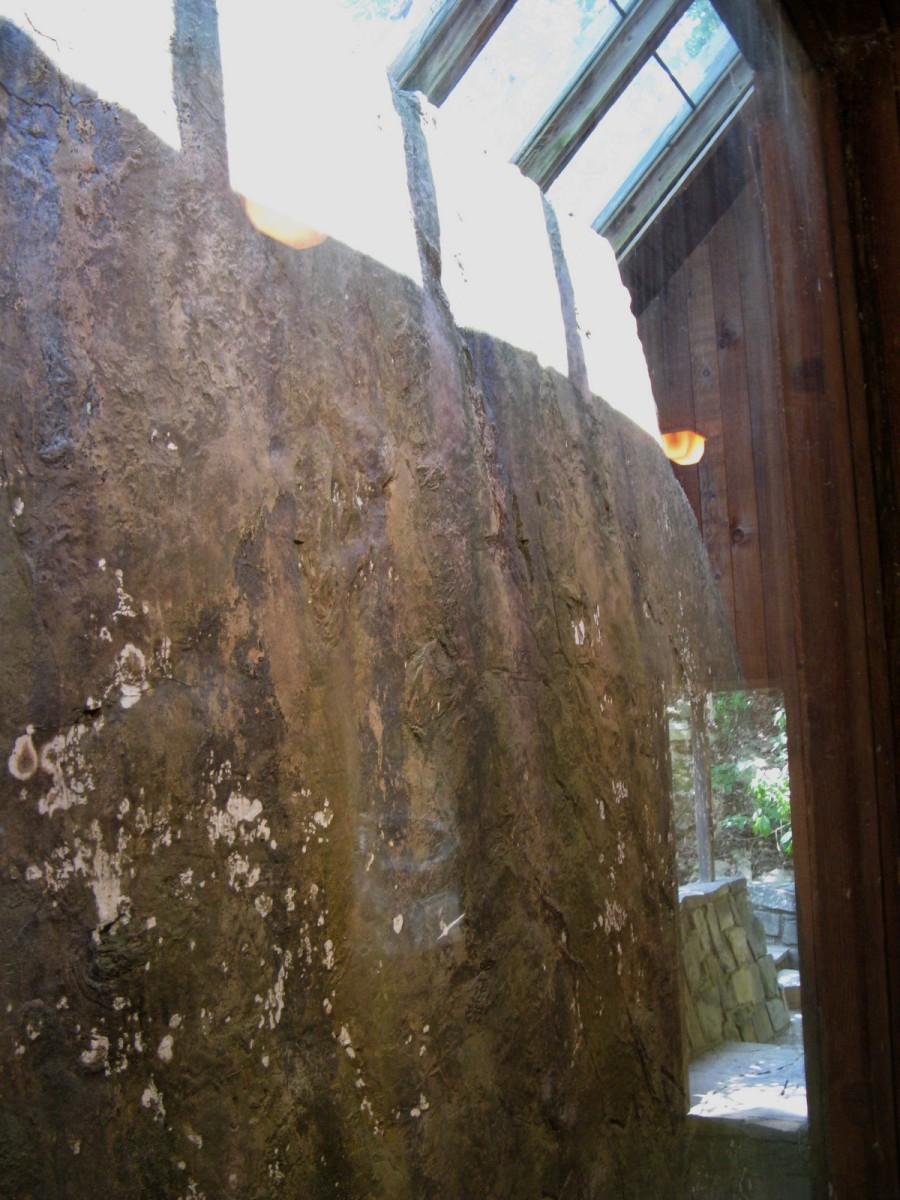One of the runestones in Heavener, OK