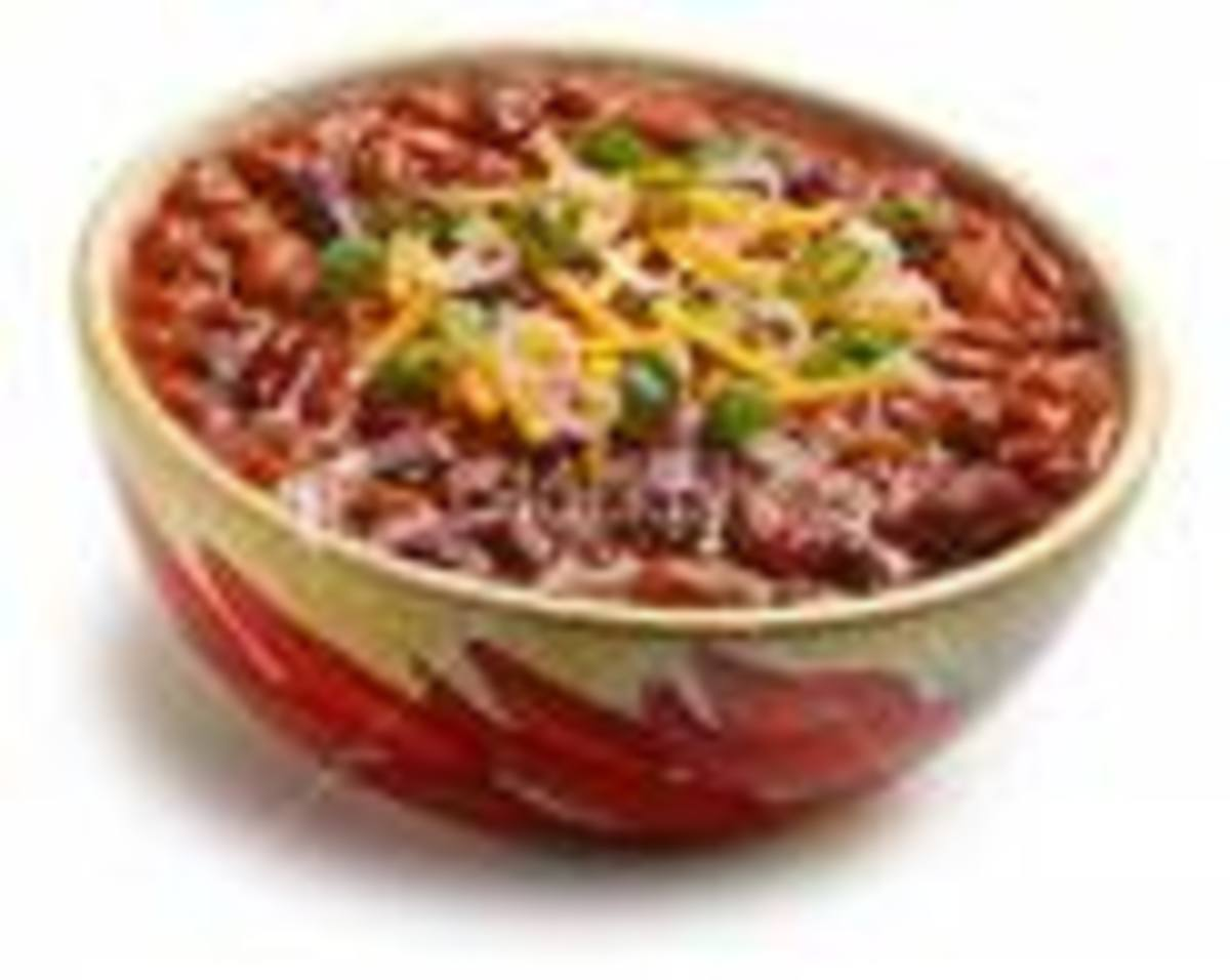 The Traditional Bowl of Chili!
