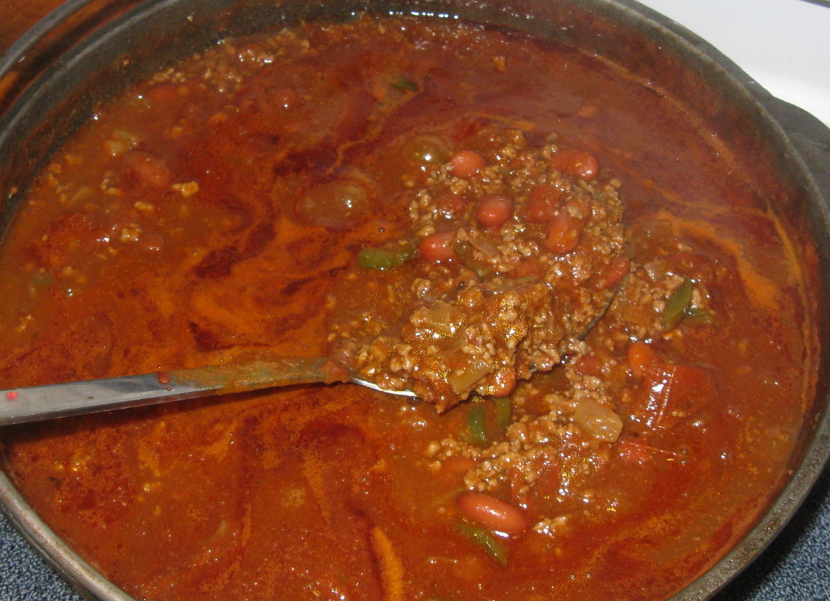 An Award Winning Chili Recipe!