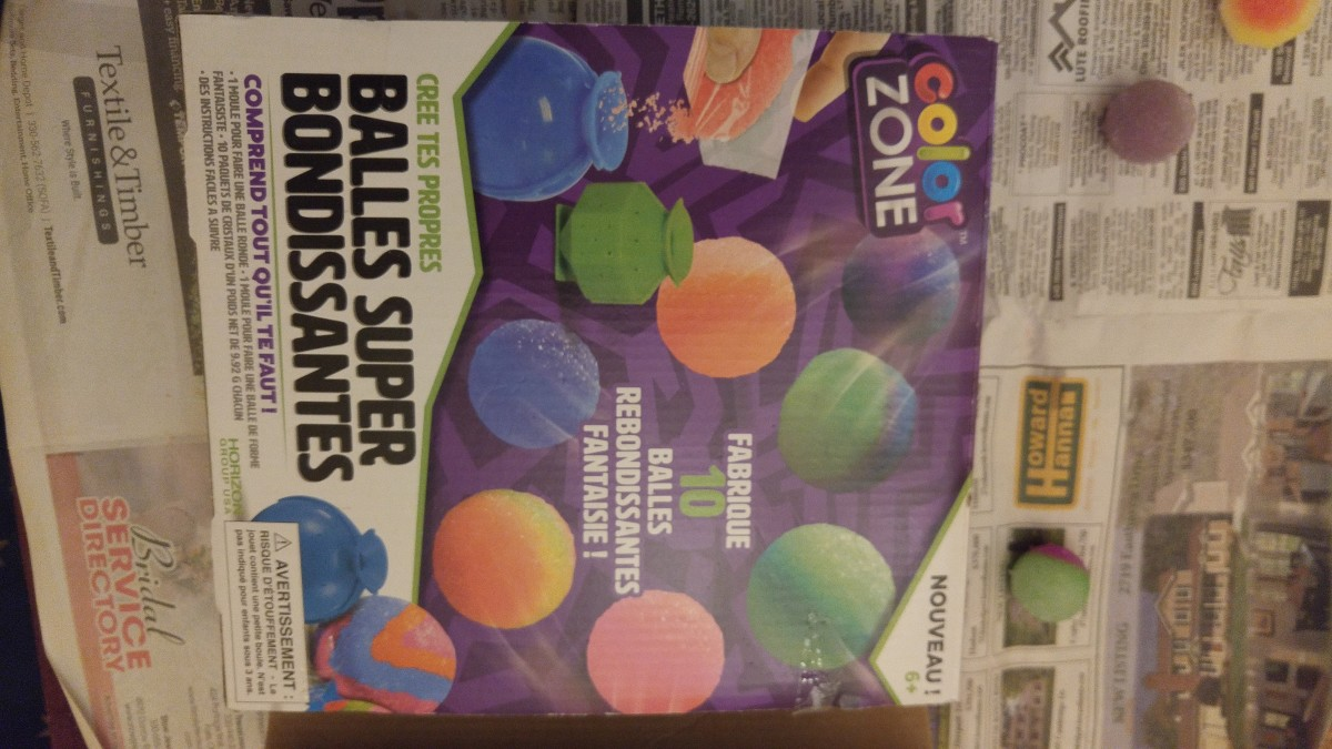 Making Super Balls - Colorzone Review
