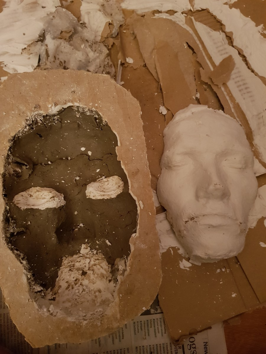 Left: Next steps unto my creative journey.  Right: The potential final cast when finished!