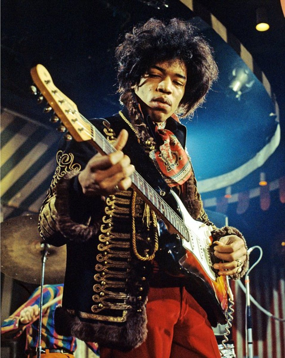 Jimi Hendrix: Ten Best Smart Phone Tunes