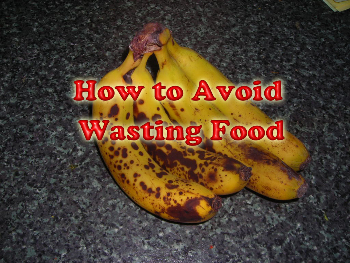 How to Avoid Wasting Food