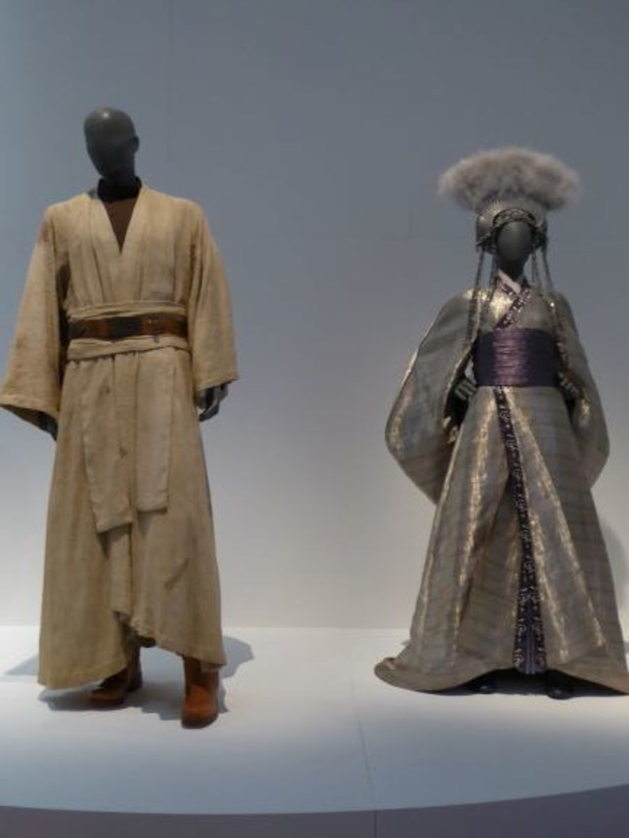 Star Wars Costumes. Images by Frances Spiegel with permission from the V&A Museum. All rights reserved.