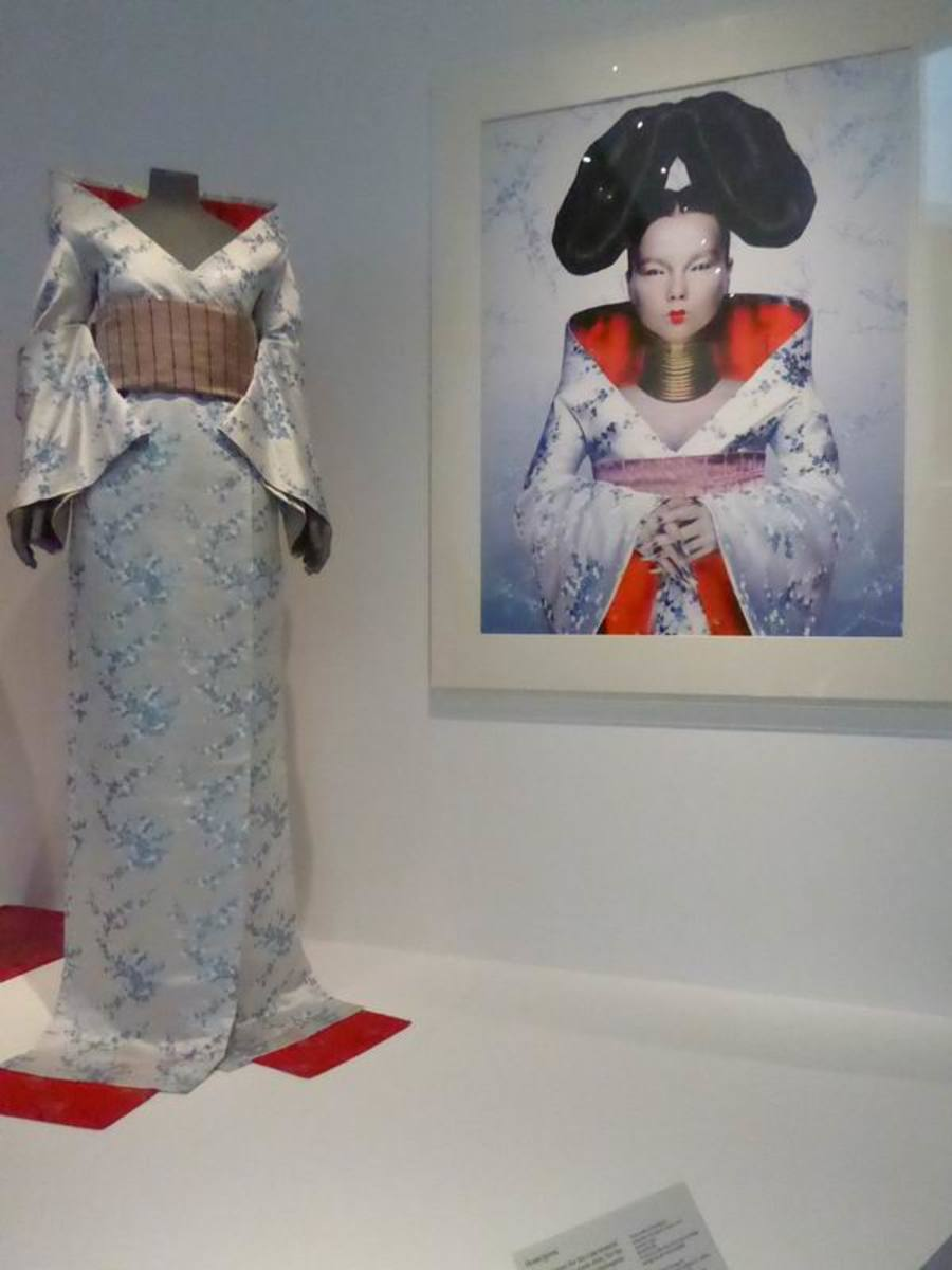 """""""Homogenic"""" Alexander McQueen. Image by Frances Spiegel with permission from V&A Museum. All rights reserved."""