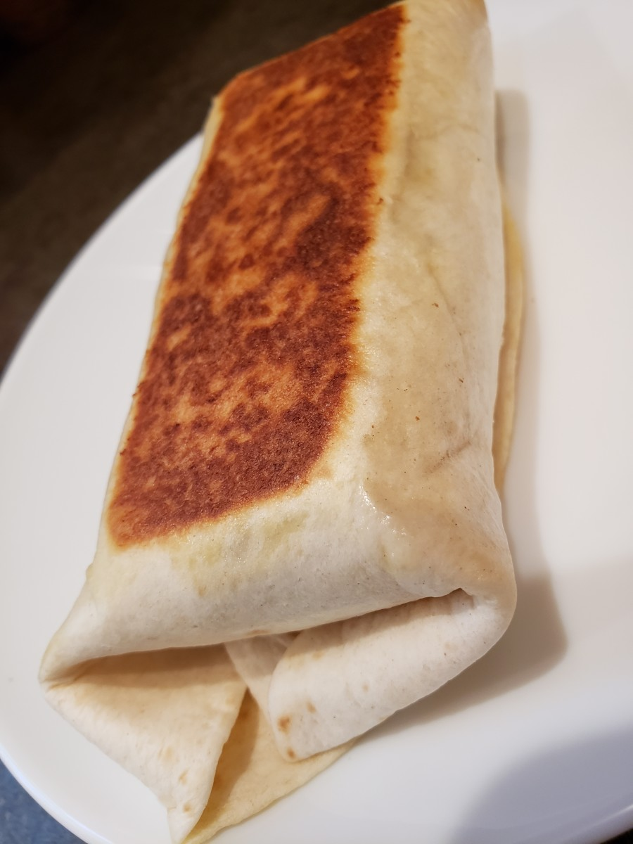 Copycat Cheesy Potato Burrito Recipe (compare to Taco Bell)