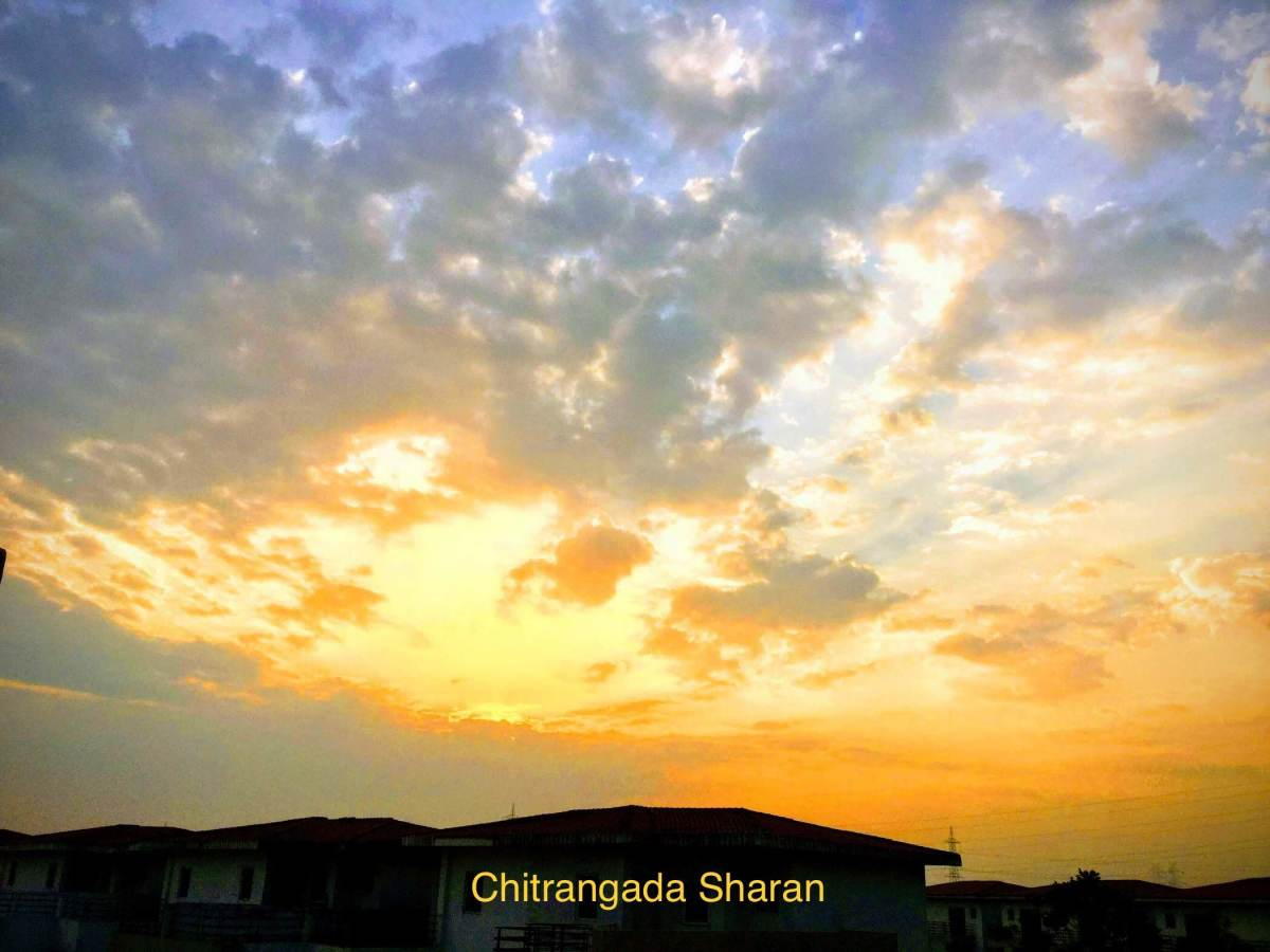 Photography—The Sunrise from my home balcony