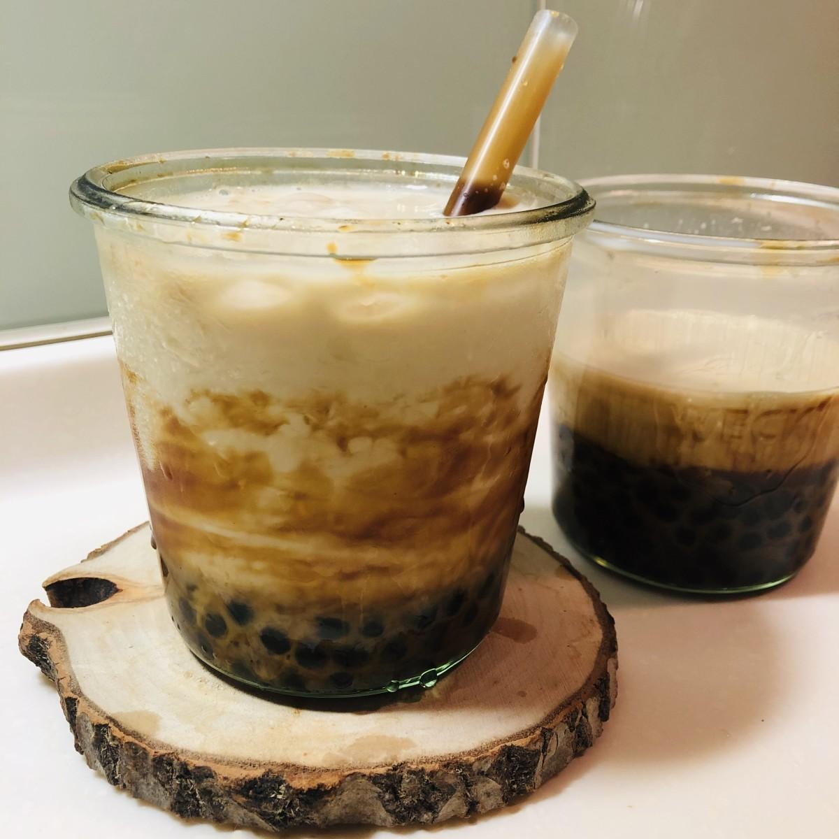 Taiwan Brown Sugar Bubble Tea Recipe