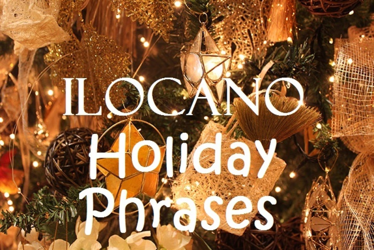 Ilocano Phrases for the Holidays