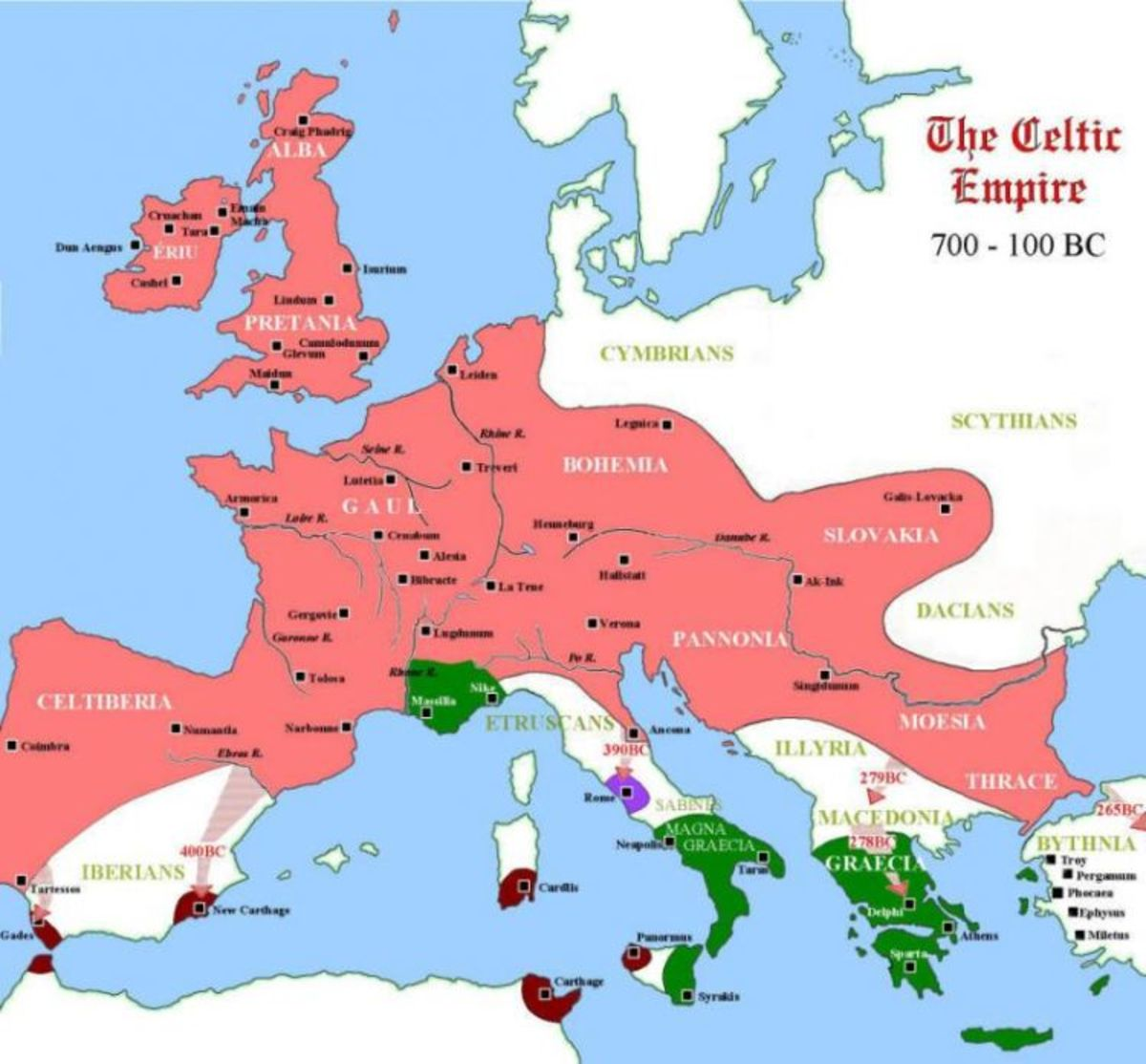 The Celts in Europe