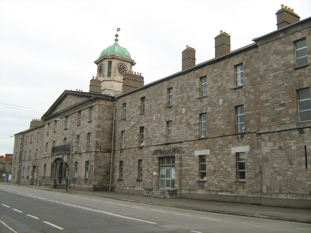 Grangegorman Female Penitentiary in Dublin Ireland