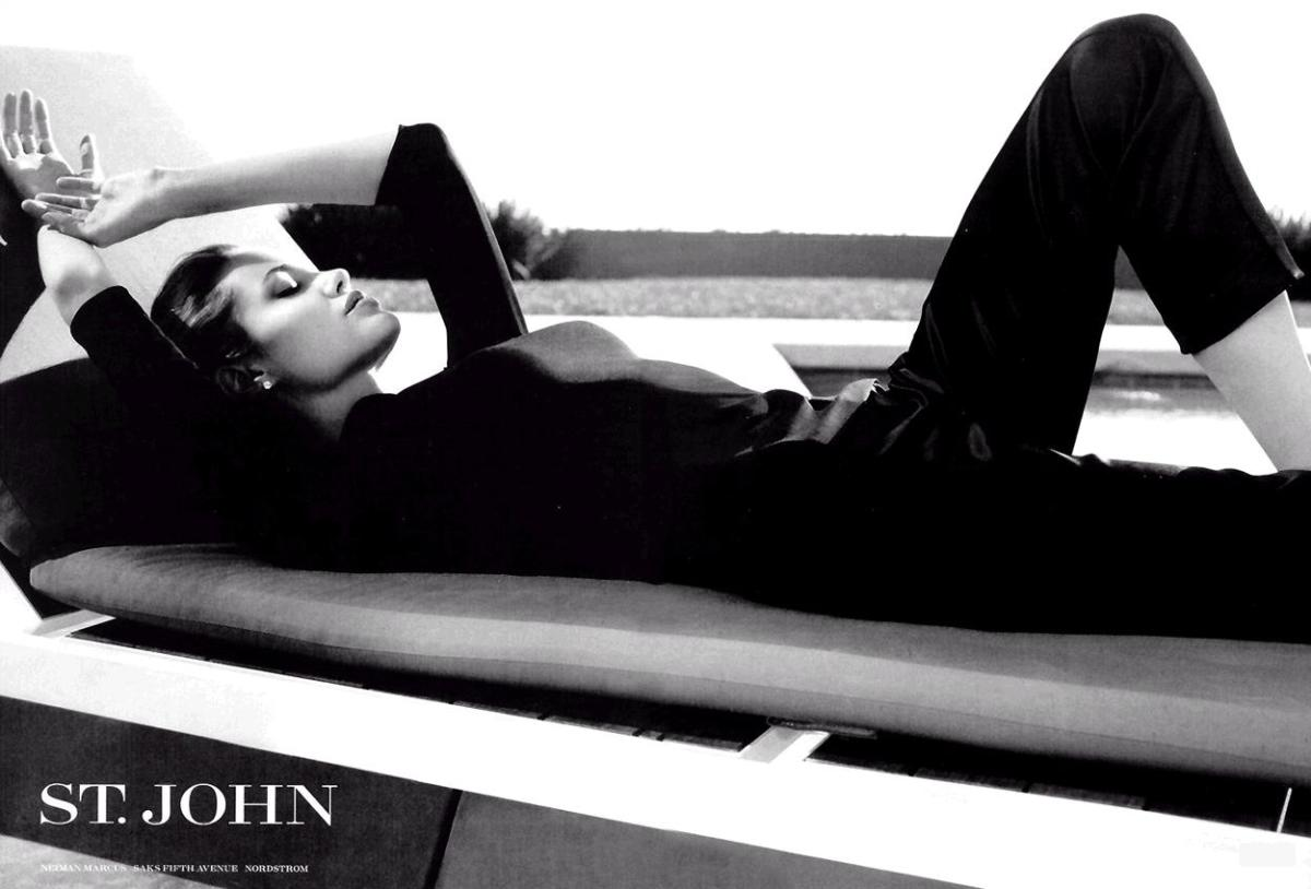 St John advertisement with Angelina Jolie