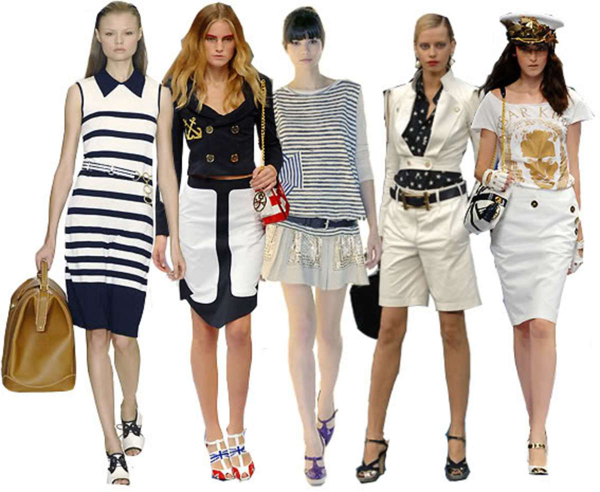 Hot Summer Fashion Trend: Nautical Fashion Trend