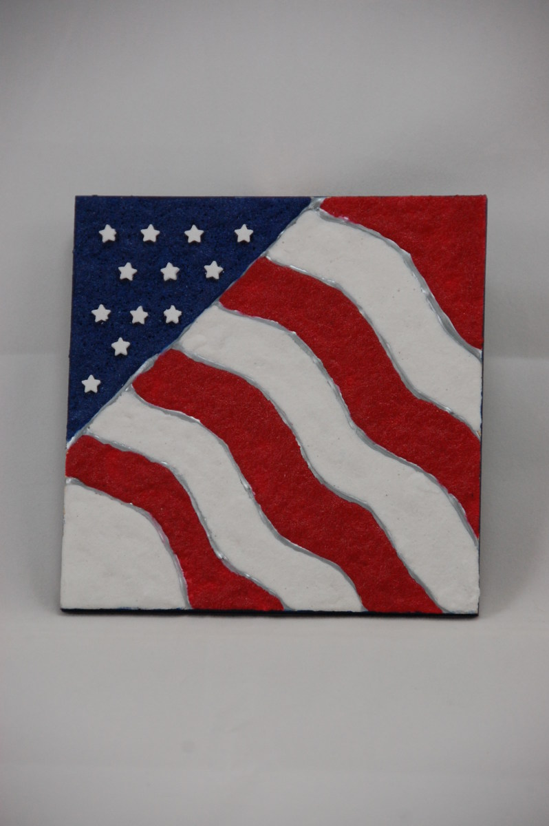 Sand Art Old Glory Designs