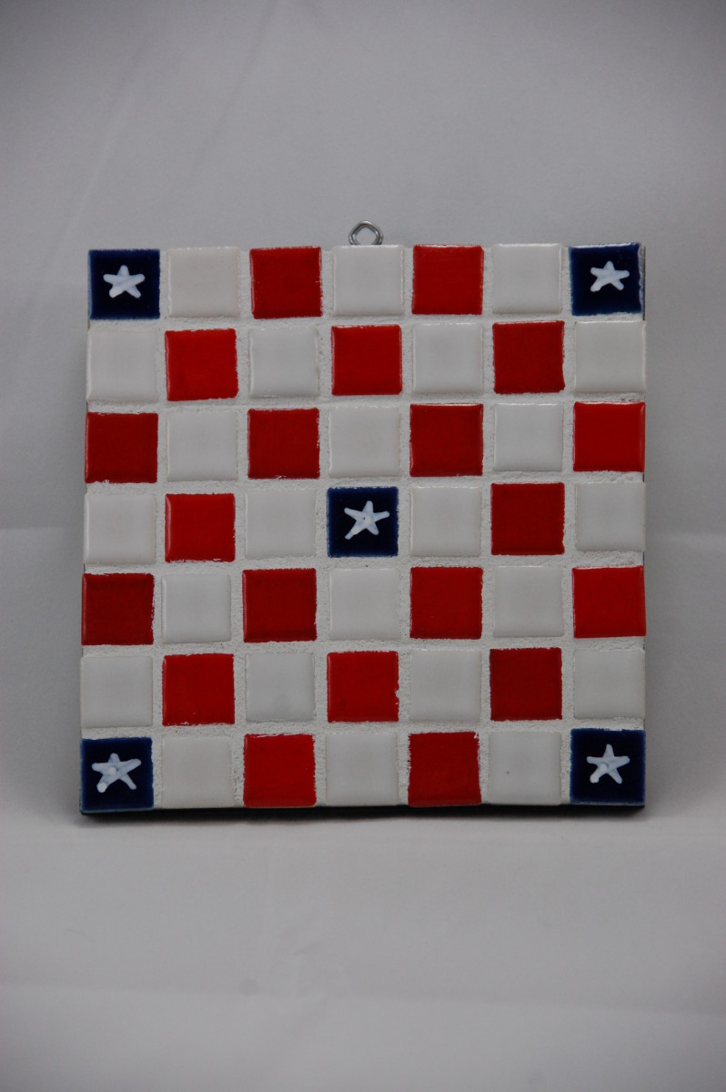 Ceramic Tile Old Glory Designs