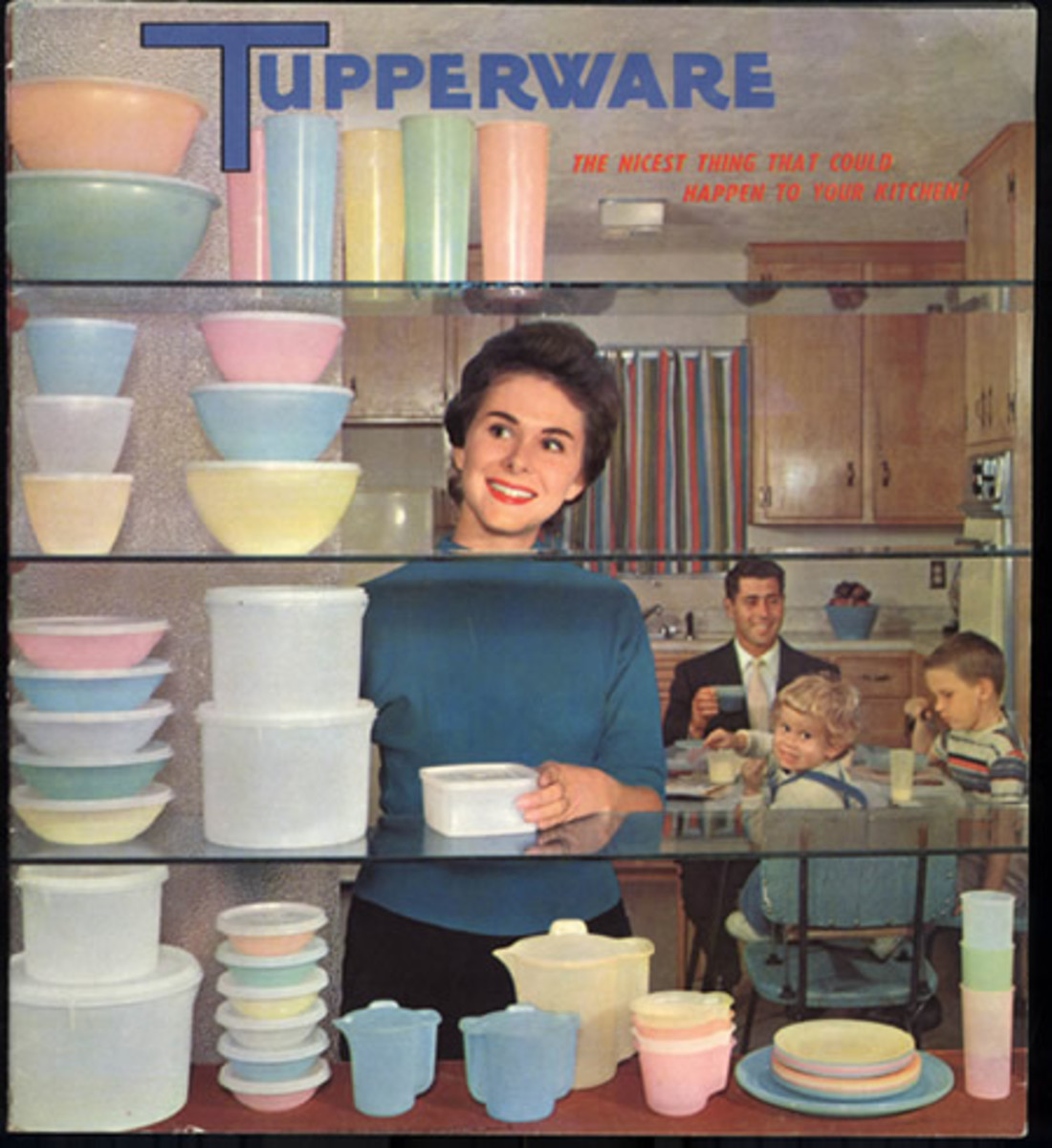 Tupperware.  Creative Commons, Flickr.com.