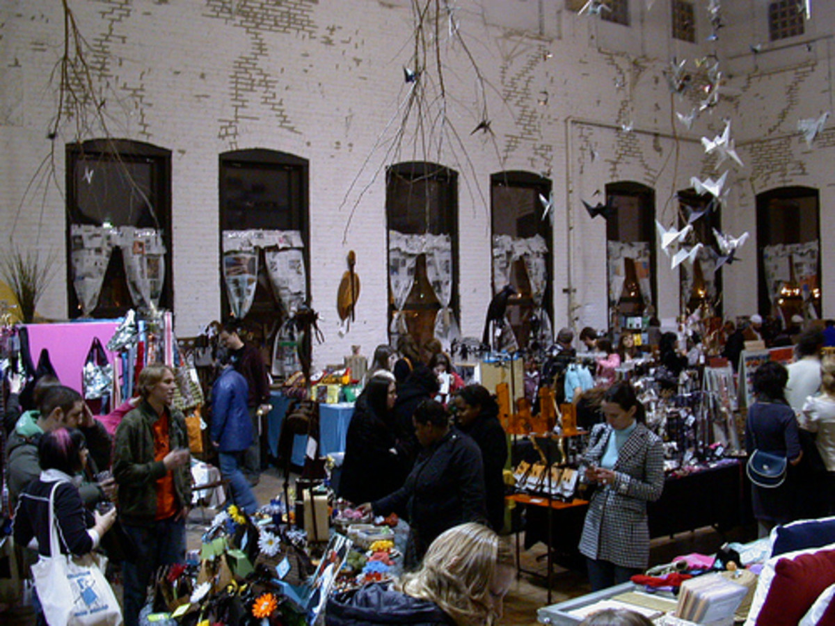 Craft Fair.  Creative Commons, Flickr.com.