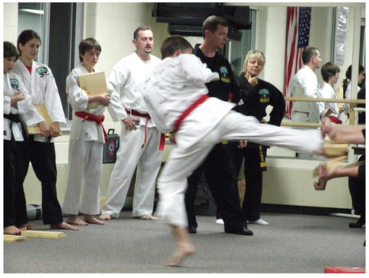 Three ten inch boards, one Reverse Sliding Side Kick.