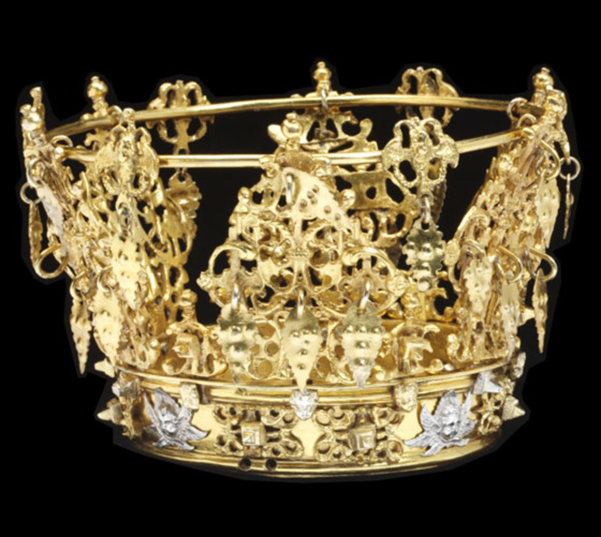 Swedish bridal crown from 18th or 19th Century