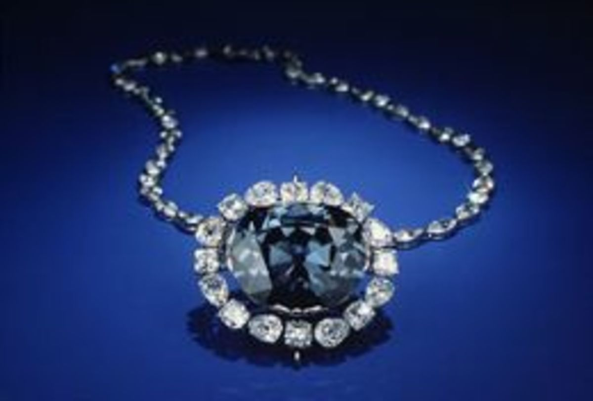 The Hope Diamond is one of the most popular attractions at the NMNH