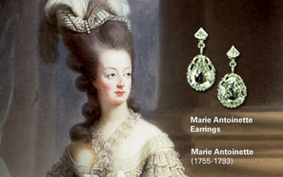 Marie Antoinette's earrings