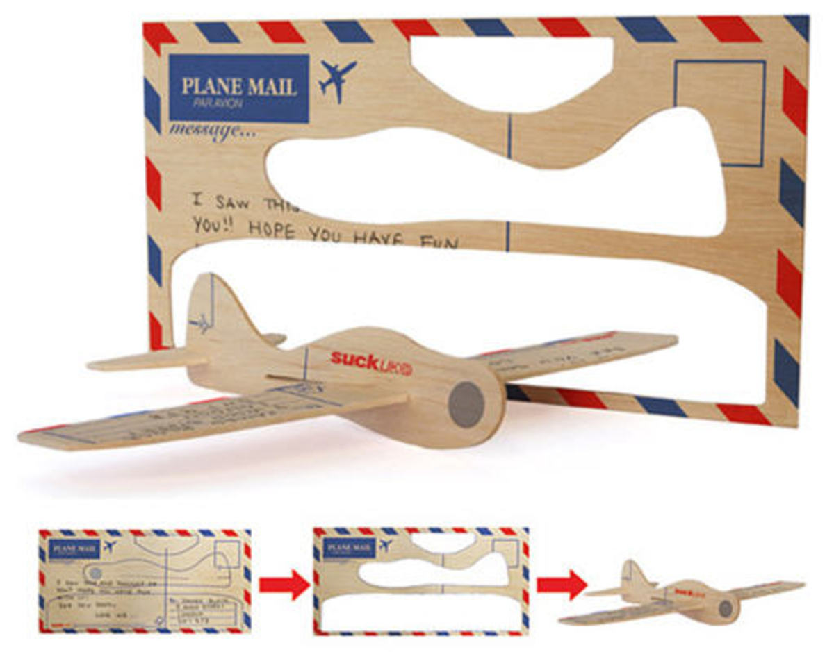 balsa wood plane template