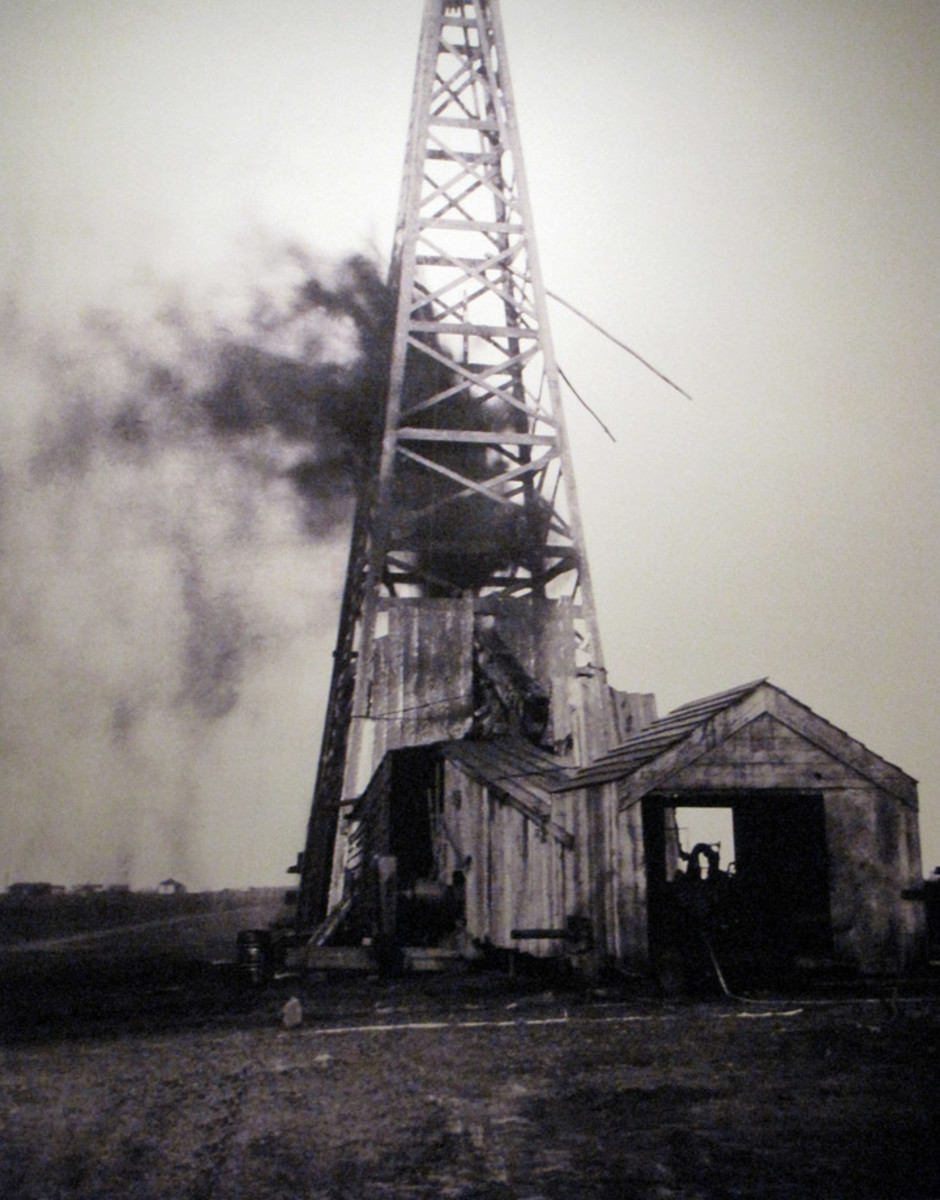 Thomas Gilcrease: First Oil Well