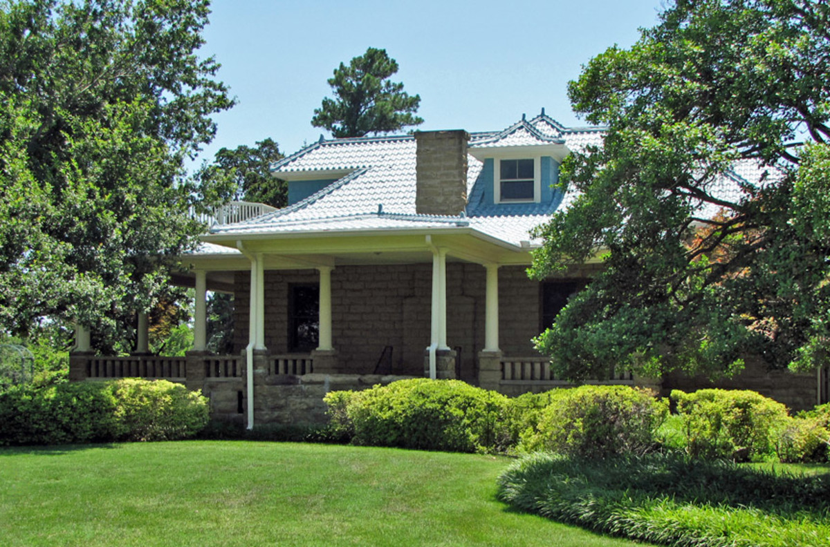 The Gilcrease House, Located on the Gilcrease Museum Grounds