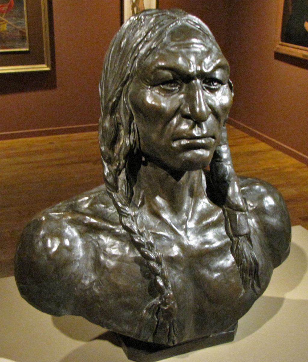 Western Bronze Sculptures found at the Gilcrease Museum