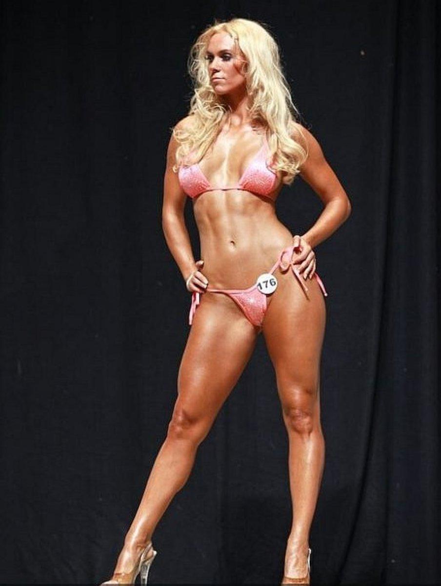 Kat Holmes - IFBB Bikini Pro
