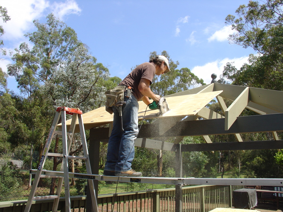 Installing 12mm plywood onto rafters | roofing materials