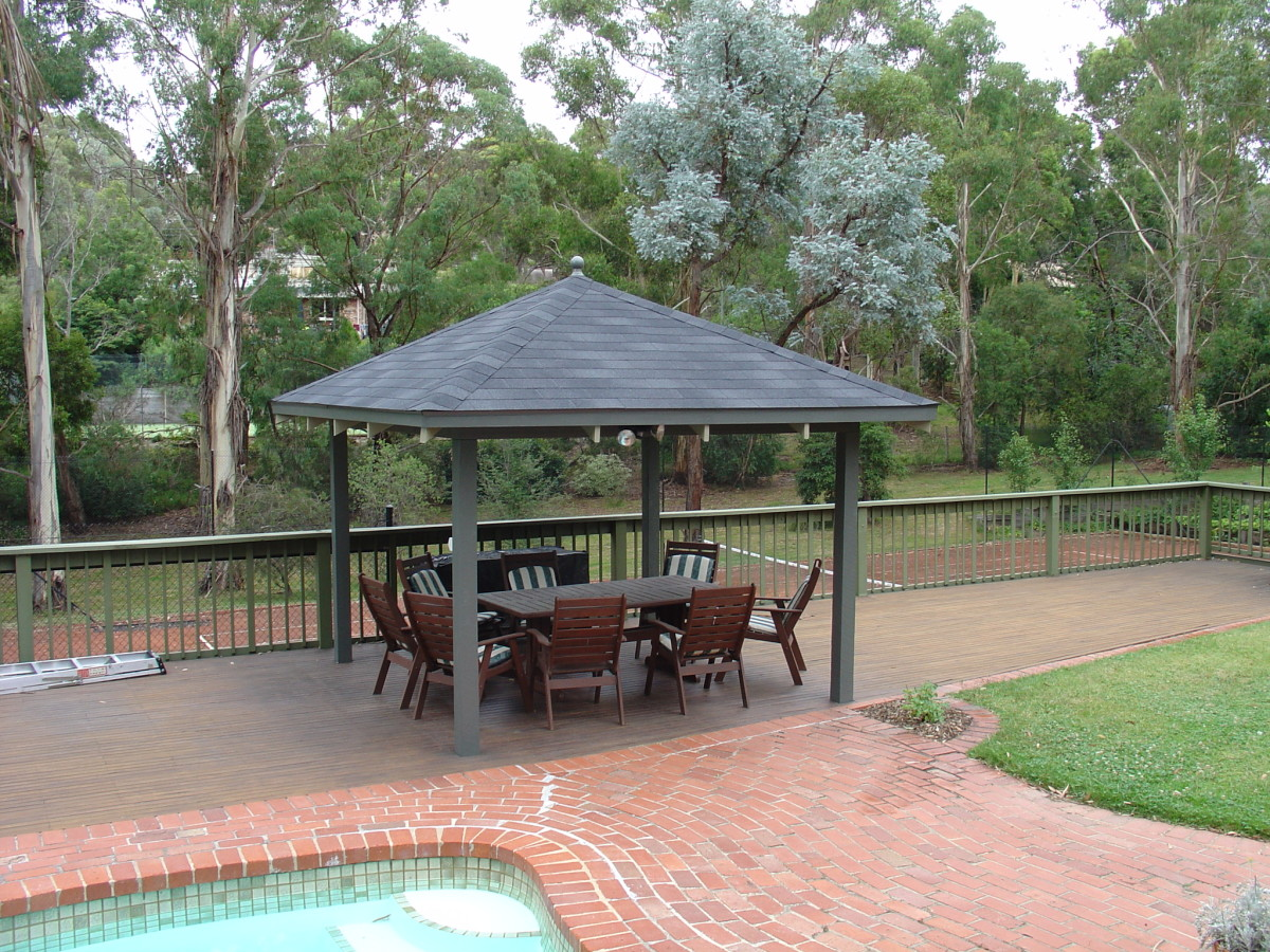 How to Install Outdoor Gazebo Kits or DIY Pergola Roofing Materials