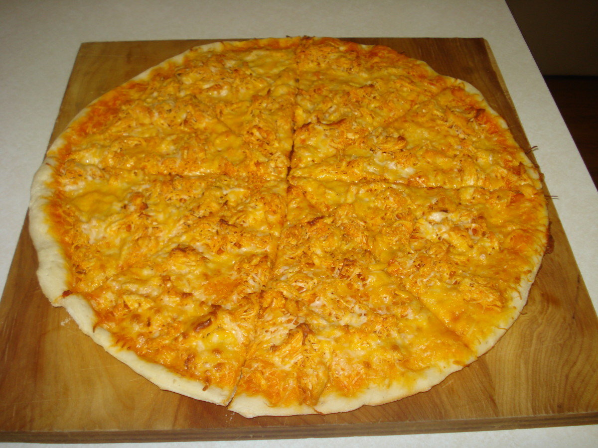 The Best Buffalo Chicken Pizza Recipe
