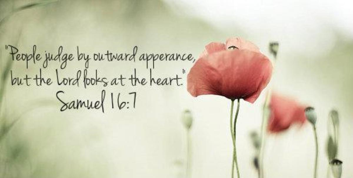 People Judge by Outward Appearance
