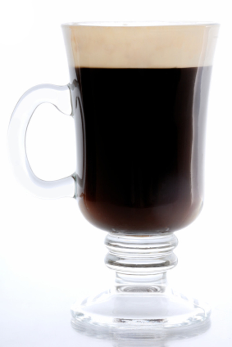 A traditional Irish Coffee Recipe