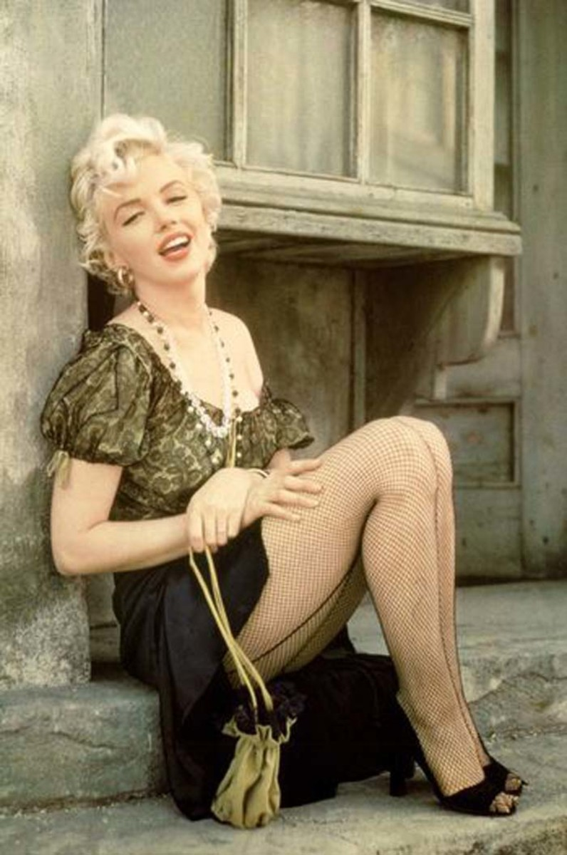 Marilyn Monroe, an American actress, singer, and model (1926)
