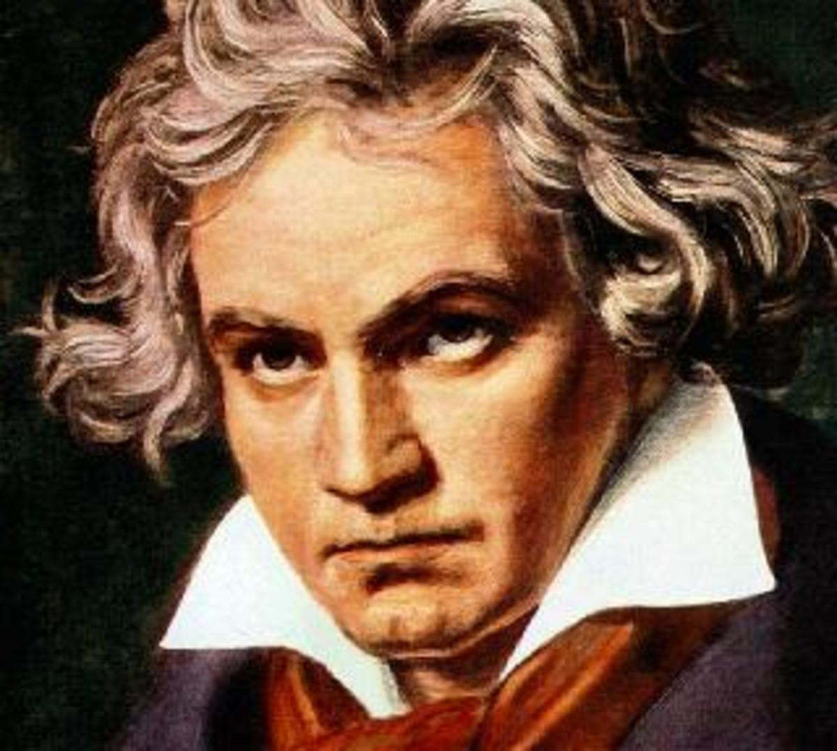 Ludwig van Beethoven, a German composer and pianist (1770)