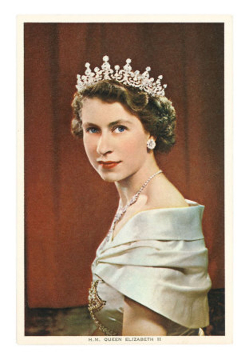 Queen Elizabeth II, the Queen regnant of sixteen independent sovereign states known informally as the Commonwealth realms (1926)