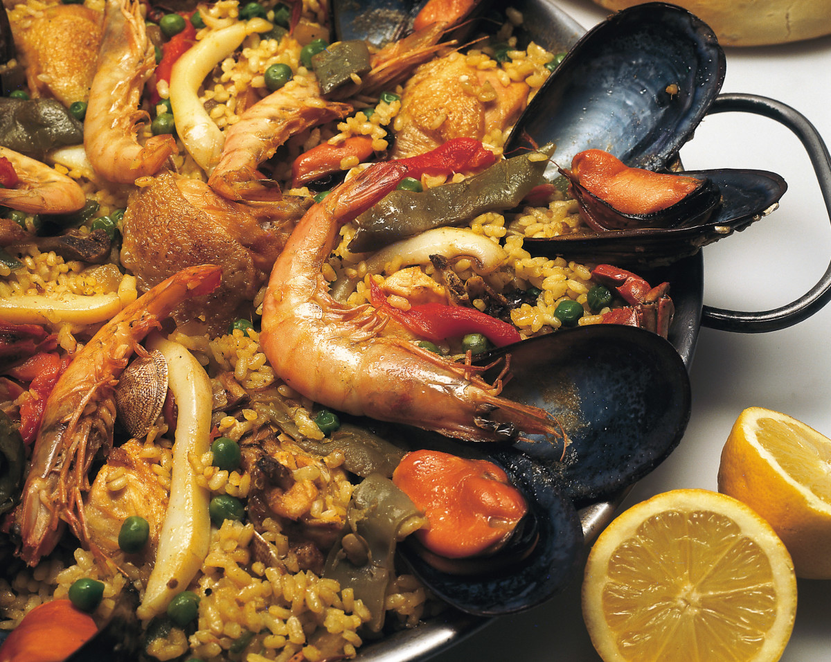 Mixed Paella - Too Yummy for Words