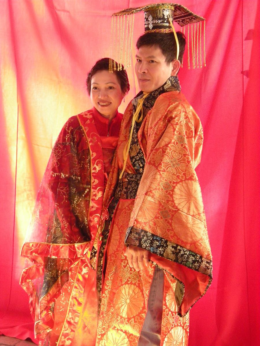 Chinese new year attire
