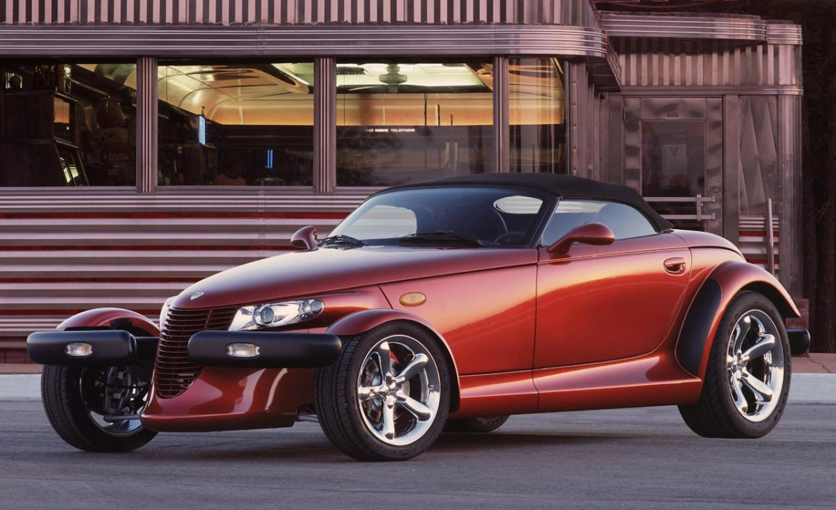 Plymouth Prowler...with just a little more power....